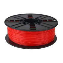 abs filament  fluor rood, 1.75 mm, 1 kg