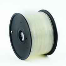 abs filament transparant, 1.75 mm, 1 kg