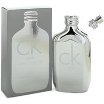 ck one platinum edt spray 100ml
