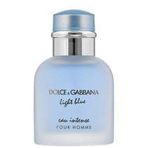 light blue eau intense pour homme edp spray 50ml