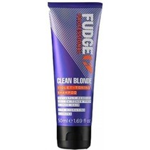 clean blonde violet toning shampoo 50ml