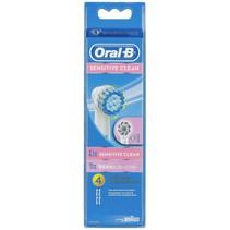 oral-b opzetborstel sensitive 4-pak