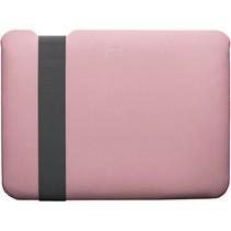 skinny sleeve medium stretchshell neo pink grijs