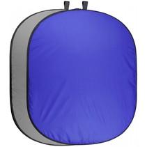 pro achtergronddoek 200x230 blauw/grijs