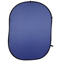 achtergronddoek blauw 150x200cm
