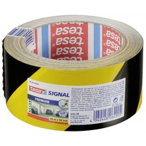 signal markerings- en waarschuwingstape geel/zwart