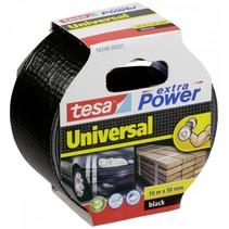 tape extra power universeel 50 mm x 10 m zwart