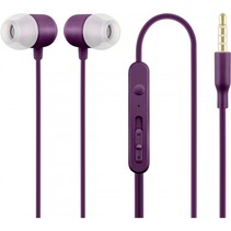 acme he21p in ear headphones met microfoon paars
