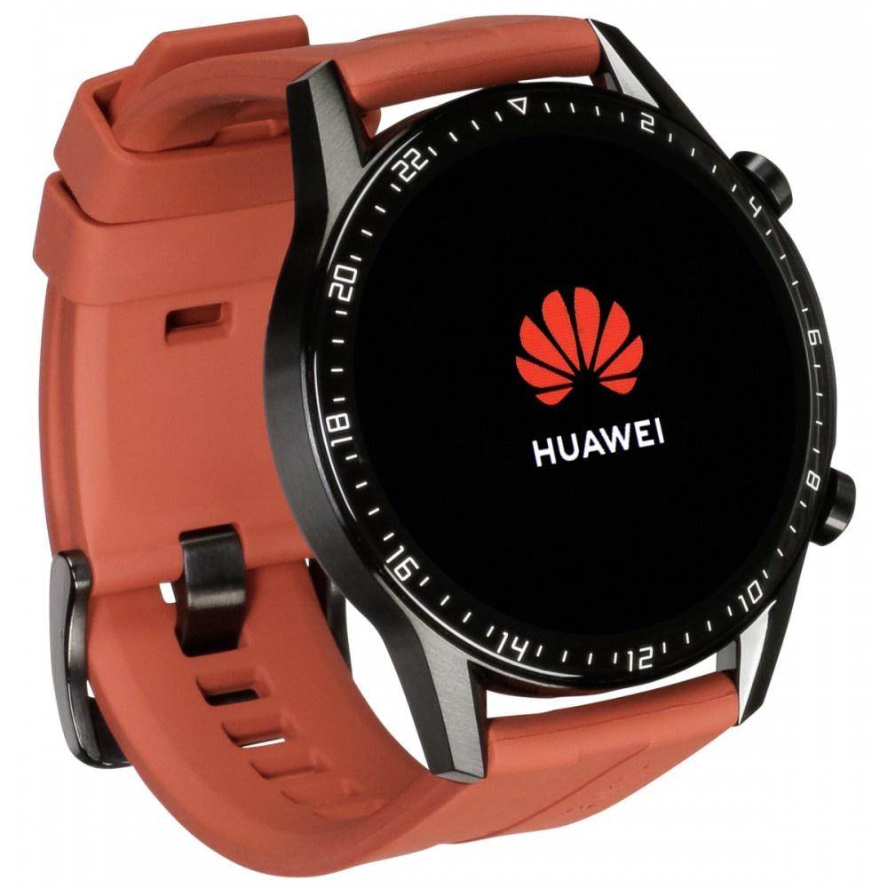 Huawei watch gt 2 sport 46mm sunset orange