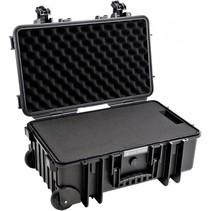 b&w outdoor case type 6600 zwart met schuimstof inzet