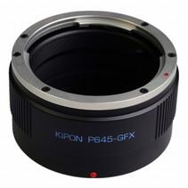 adapter voor pentax 645 op fuji gfx