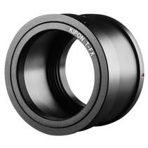 adapter t2 objectief aan fuji x camera