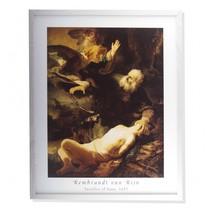 Rembrandt framed print Het offer van Abraham