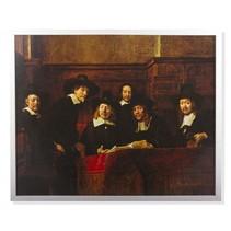 Rembrandt framed print De staalmeesters