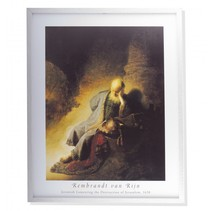 Rembrandt framed print Jeremiah Lamenting the Destruction of Jerusalem