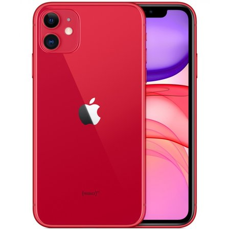 Apple iphone 11 64gb rood mwlv2zd/a