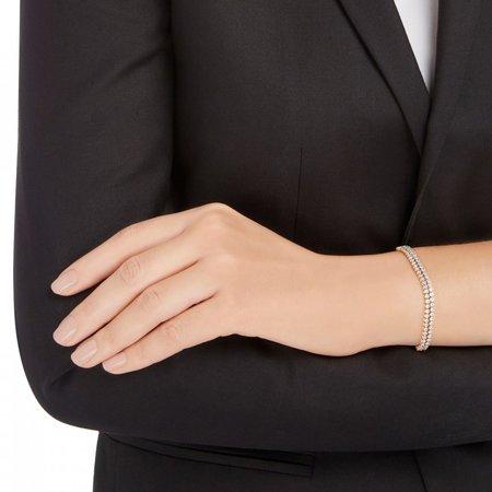 Swarovski Subtle-armband wit roségoudkleurige toplaag 5297634