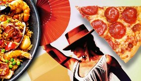 Paella of Pizza