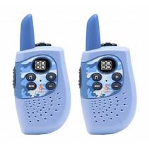 hm 230 walkie talkie politie (blauw)