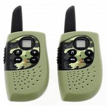 hm 230 walkie talkie leger (groen)