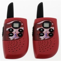 hm 230 walkie talkie brandweer (rood)