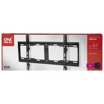 one for all tv muurbeugel 84 solid flat