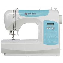c5205 turkoois/blauw naaimachine