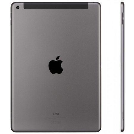 Apple ipad 10.2 wi-fi cell 128gb space grey mw6e2fd/a