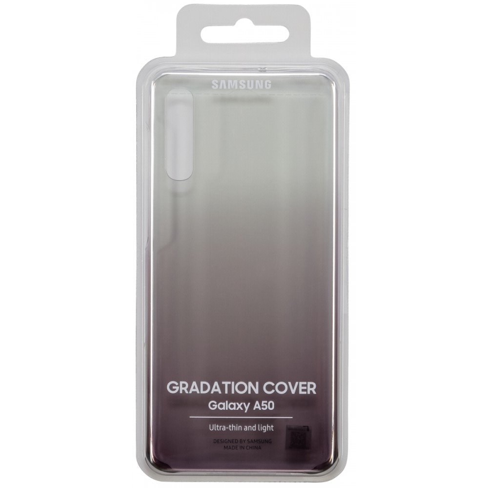 Samsung gradation cover zwart voor galaxy a50