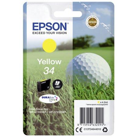 Epson inktpatroon geel durabrite ultra ink 34 t 3464