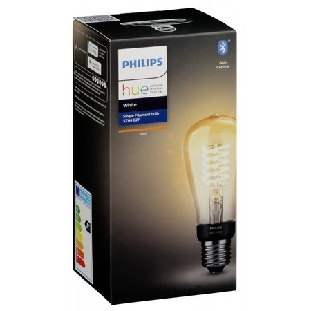 Philips hue white filament e27 bluetooth 550 lm st64