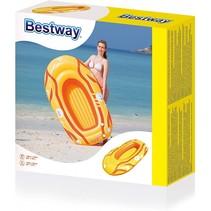 Hydro force opblaasboot geel