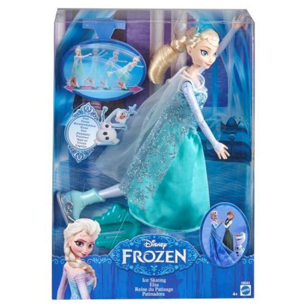 Mattel Frozen - Schaatspop Elsa