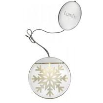 deco highlights zilver 10cm acryl motief kristal