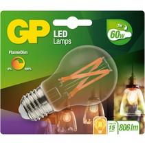 gp lighting led flamedim e27 7w (60w) 806 lm gp 085430