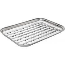 grillschale edelstahl mat lv01080