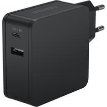 home charger 254pd 1xusb 1xusb type-c pd 60w 4700ma