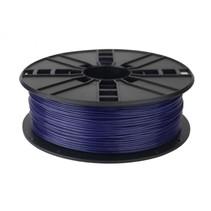 pla filament diepblauw, 1.75 mm 1 kg.
