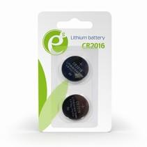cr2016 knoopcelbatterij, 2 stuks