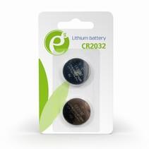 cr2032 knoopcelbatterij, 2 stuks