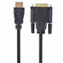 hdmi naar dvi-kabel, 0.5 meter