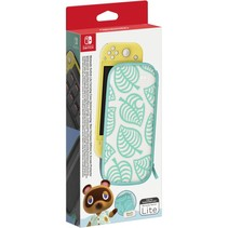 switch lite tas (animal crossing) & beschermfolie