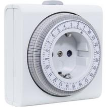 zeitschaltuhr compact mechanisch wit