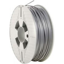 3d printer filament pla 2,85 mm 1 kg silver/metal grey
