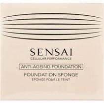 sensai total finish foundation sponge