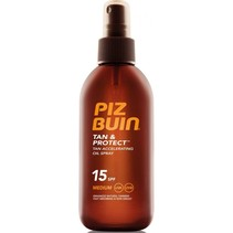 tan & protect oil spray spf15 150ml
