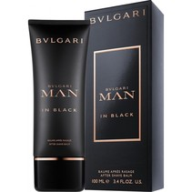 man in black after shave balm 100ml
