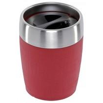 travel cup isoleerbeker rvs 0,2l rood 515681