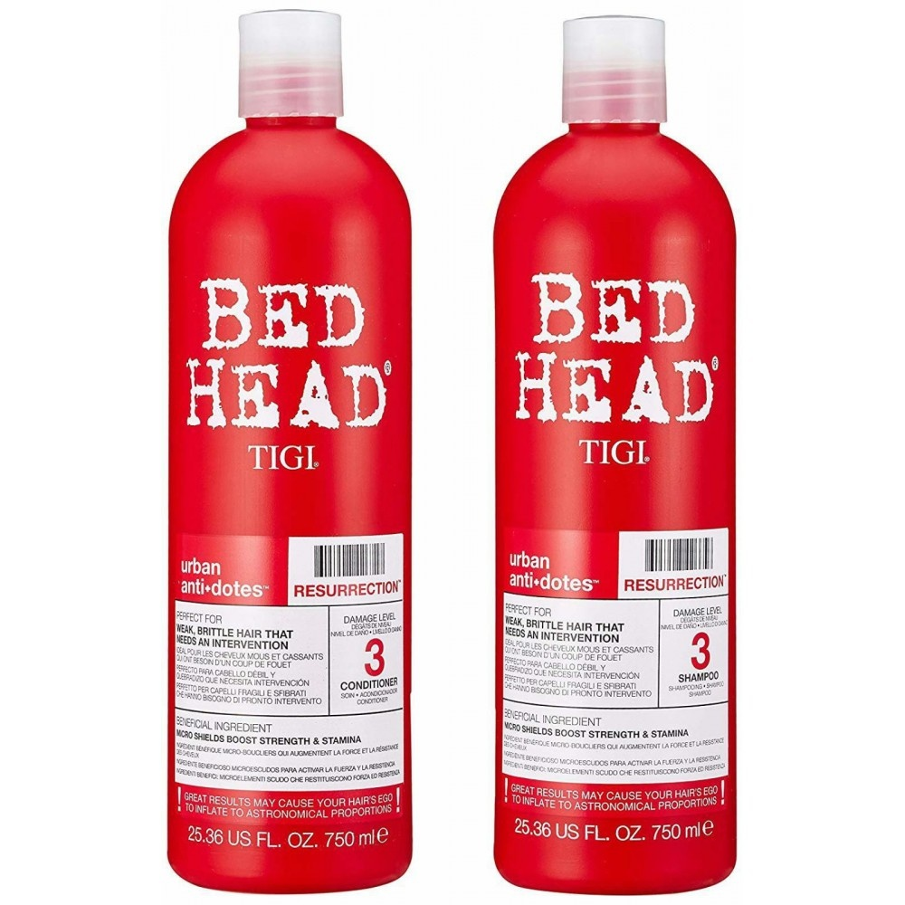 TIGI bed head resurrection tween set 1500ml