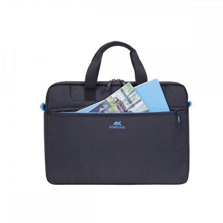 Rivacase 8037 laptop bag zwart 15.6